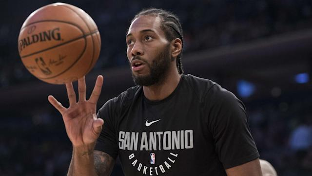 How much money could Kawhi Leonard lose in a potential trade? Here's how the contract numbers break down.
