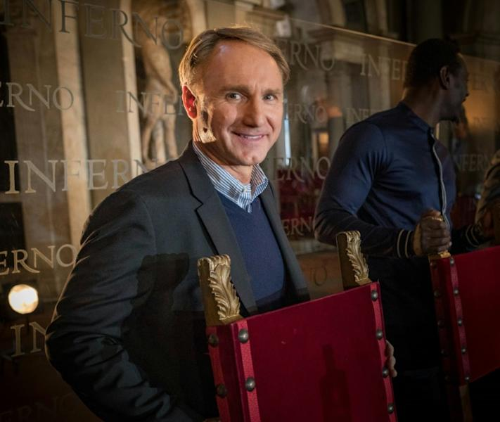 Dan Brown will present his new thriller 'Origin'