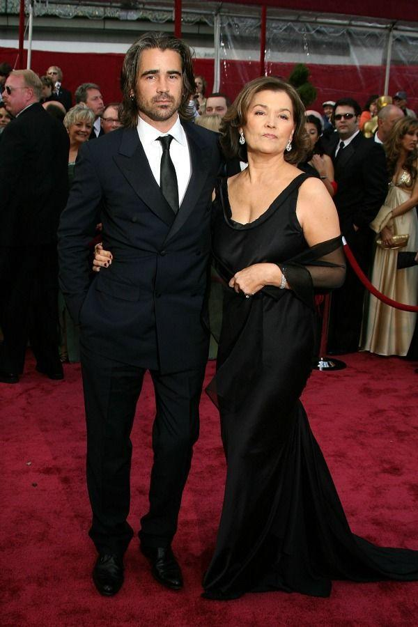 <p>Colin grabbed mom Rita Farrell to be his date for the 2008 Academy Awards.</p>