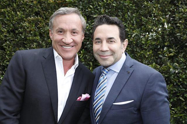 """Doctors Terry Dubrow and Paul Nassif are back for Season Four of """"Botched."""" (Credit: Getty Images)"""