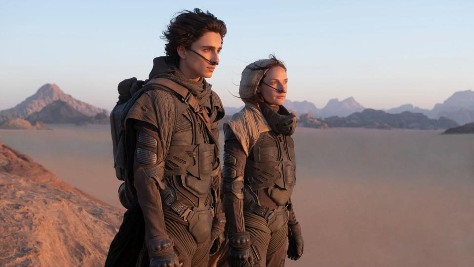 <p> <strong>Release date:&#xA0;</strong>October 1, 2020 </p> <p> Is Frank Herbert&#x2019;s supposedly unfilmable classic sci-fi novel Dune genuinely unfilmable? The jury&#x2019;s still out after David Lynch&#x2019;s ambitious but flawed 1984 attempt. However, if anyone can get an adaptation right it&#x2019;s&#xA0;Arrival&#xA0;director Denis Villeneuve, the man who directed the excellent Blade Runner 2049. </p> <p> He&#x2019;s lined up an impressive cast to tell the story of double-dealing and skullduggery on the desert world of Arrakis, the source of the valuable &#x201C;spice&#x201D; that makes interstellar travel possible. Timoth&#xE9;e Chalamet plays the lead Paul Atreides, with&#xA0;Mission: Impossible: Rogue Nation&#x2019;s Rebecca Ferguson as his mum Lady Jessica, and some top Star Wars and Marvel talent in the form of Oscar Isaac, Josh Brolin, Stellan Skarsg&#xE5;rd, Dave Bautista and Zendaya. </p>