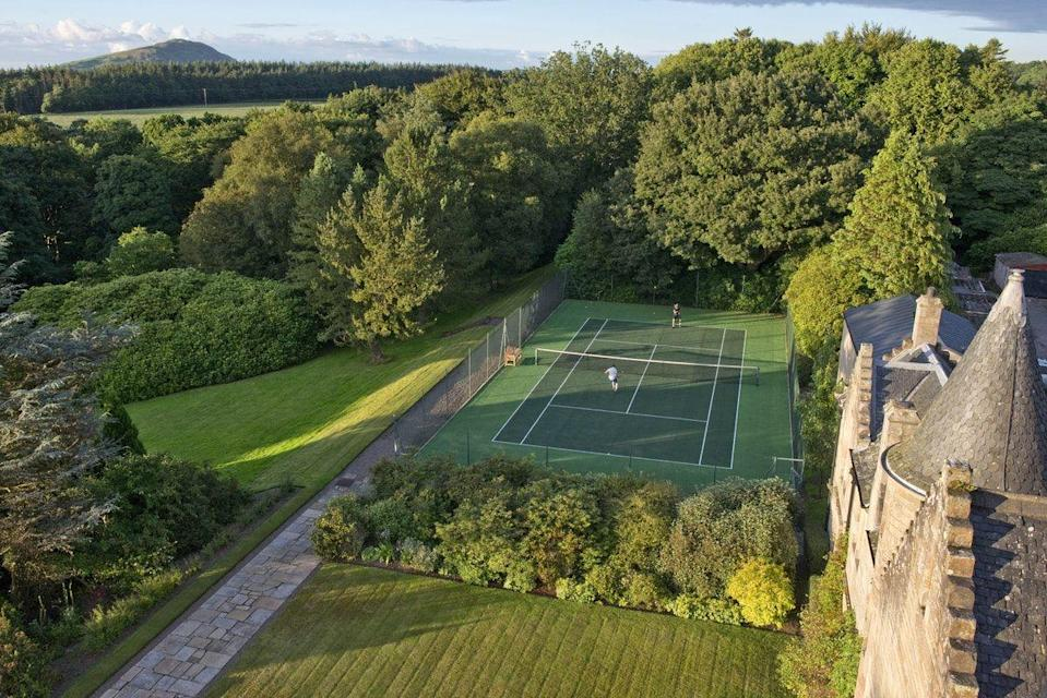 """<p>This 21-room luxury retreat is tucked away on the breathtaking Ayrshire coast. Here, you and the kids can get lost within the castle's 110 acres of private estate and local woodland and enjoy an abundance of over 65 indoor and outdoor activities, such as axe throwing, canoeing, coasteering, kayaking, yoga and tennis.</p><p><a href=""""https://go.redirectingat.com?id=127X1599956&url=https%3A%2F%2Fwww.booking.com%2Fhotel%2Fgb%2Fglenapp-castle.en-gb.html%3Faid%3D2070929%26label%3Dbest-luxury-family-hotels&sref=https%3A%2F%2Fwww.redonline.co.uk%2Ftravel%2Finspiration%2Fg504997%2Fbest-luxury-family-hotels%2F"""" rel=""""nofollow noopener"""" target=""""_blank"""" data-ylk=""""slk:Glenapp Castle"""" class=""""link rapid-noclick-resp"""">Glenapp Castle</a> has its own boat, with boat trips organised the fabulous Ailsa Craig island and here you can spot all sorts of wonderful wildlife including seals, dolphins, minke whales, basking sharks and puffins. A terrific place for the whole family, the parents romantic walks in the Glen and Arboretum, while the grandparents might enjoy a spot of boules or a visit to a nearby whisky distillery.</p><p><a class=""""link rapid-noclick-resp"""" href=""""https://go.redirectingat.com?id=127X1599956&url=https%3A%2F%2Fwww.booking.com%2Fhotel%2Fgb%2Fglenapp-castle.en-gb.html%3Faid%3D2070929%26label%3Dbest-luxury-family-hotels&sref=https%3A%2F%2Fwww.redonline.co.uk%2Ftravel%2Finspiration%2Fg504997%2Fbest-luxury-family-hotels%2F"""" rel=""""nofollow noopener"""" target=""""_blank"""" data-ylk=""""slk:CHECK AVAILABILITY"""">CHECK AVAILABILITY</a><br></p>"""