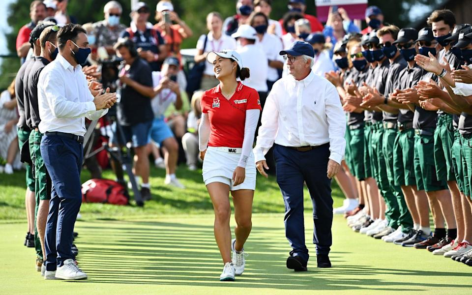 Minjee Lee overcomes seven shot deficit to win her first major - Stuart Franklin /Getty Images Europe