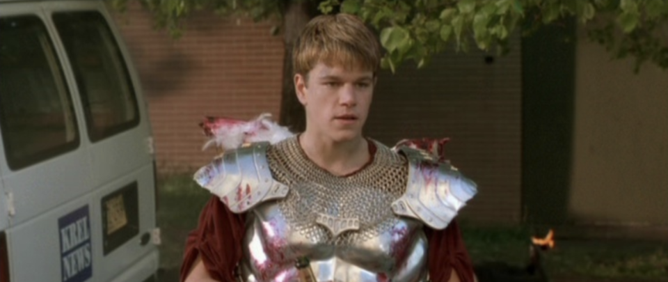 Matt Damon as Loki in <i>Dogma</i>, a film directed by noted comic geek Kevin Smith. (Photo: Lionsgate)