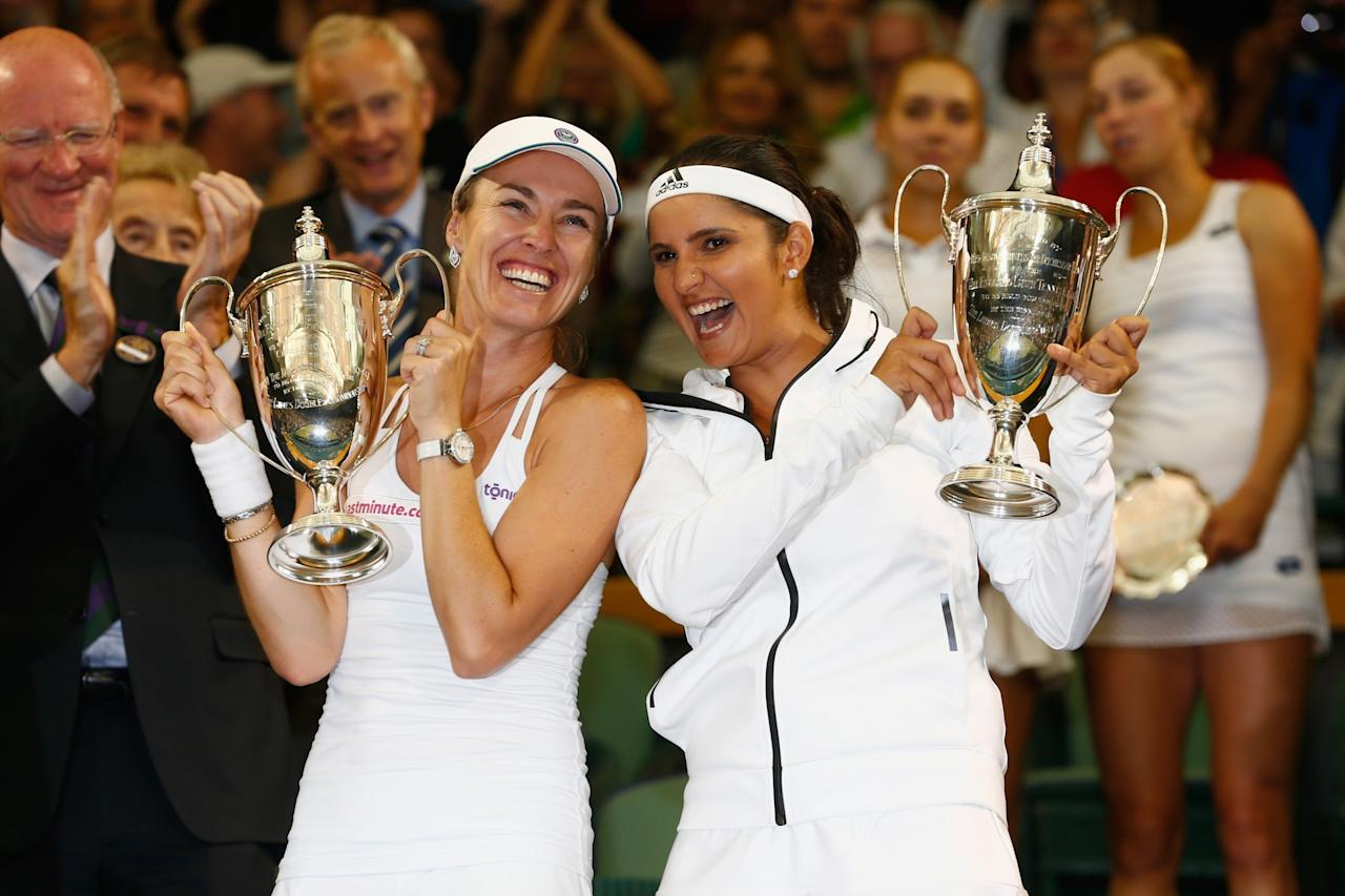 <p>Sania Mirza has won as many as 14 medals (including 6 gold) at the Asian Games, the Commonwealth Games and the Afro-Asian games. She is currently ranked number one in women's doubles ranking. </p>