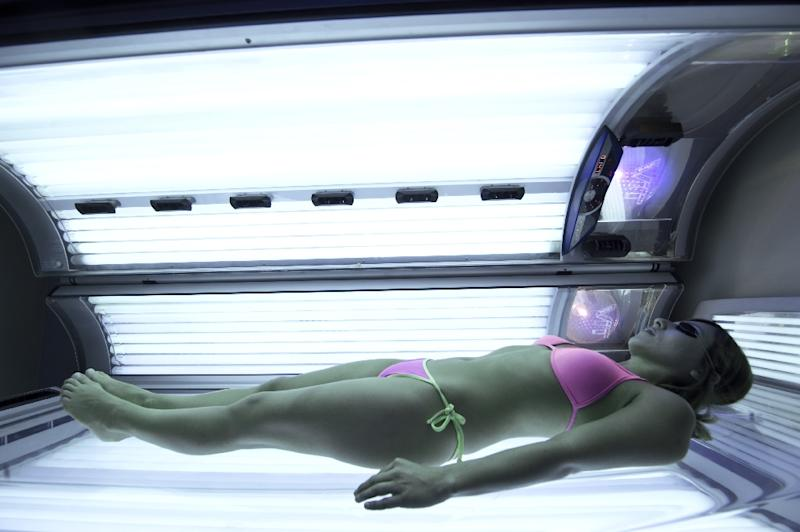 More than 90 percent of melanoma cancers are caused by skin cell damage from exposure to the sun or other sources of ultraviolet radiation such as tanning beds, according to the US Centers for Disease Control (AFP Photo/Martin Bernetti)
