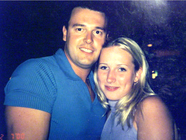 Stéphane Parent and Adrienne McColl, in an image from when they were dating.  Police said Parent left Calgary days after McColl's disappearance in 2002 and had been living in Ontario and Quebec until his 2018 arrest. (Postmedia - image credit)