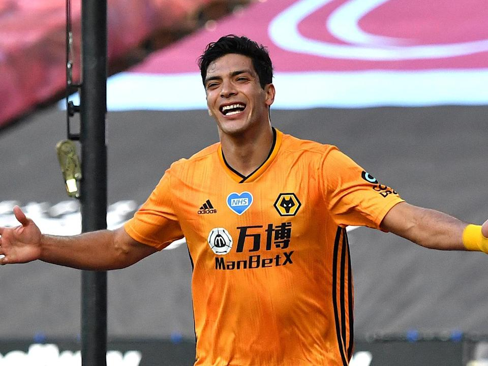 Wolves striker Raul Jimenez: 2020 Pool