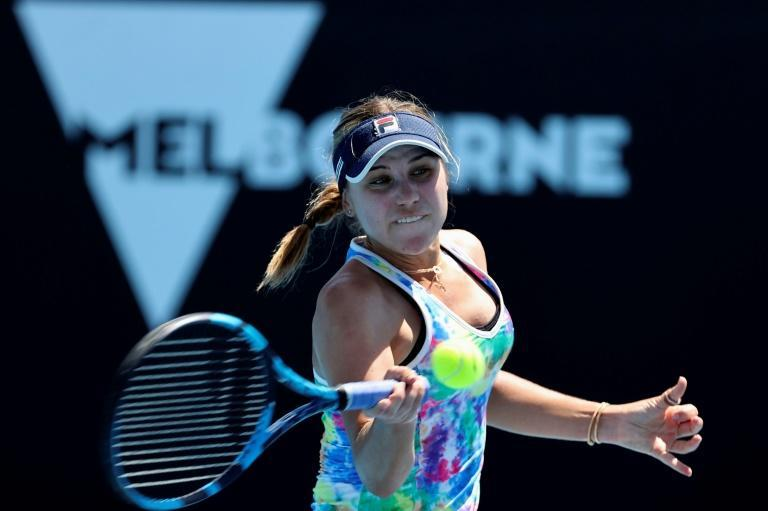 Sofia Kenin is the defending champion at Melbourne