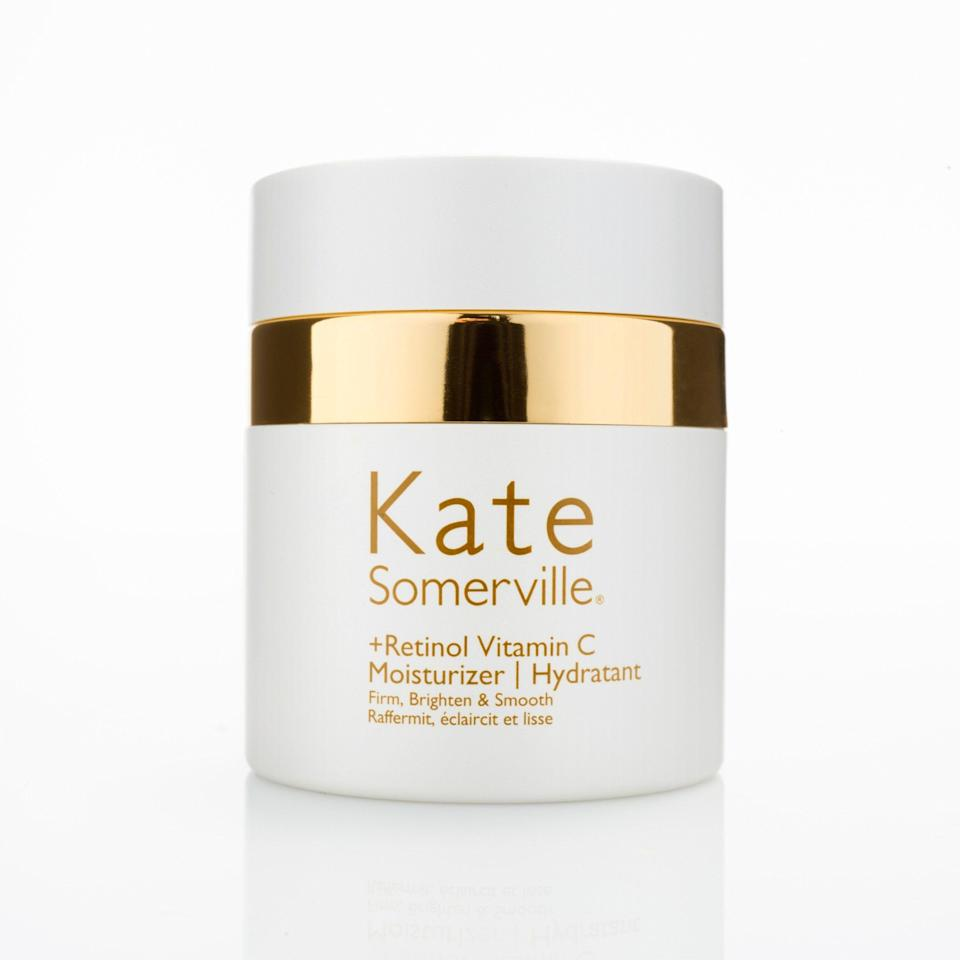 "<p><strong>Kate Somerville</strong></p><p>ulta.com</p><p><strong>$90.00</strong></p><p><a href=""https://go.redirectingat.com?id=74968X1596630&url=https%3A%2F%2Fwww.ulta.com%2Fretinol-vitamin-c-moisturizer%3FproductId%3Dpimprod2005754&sref=https%3A%2F%2Fwww.harpersbazaar.com%2Fbeauty%2Fskin-care%2Fg25939407%2Fbest-retinol-creams%2F"" rel=""nofollow noopener"" target=""_blank"" data-ylk=""slk:Shop Now"" class=""link rapid-noclick-resp"">Shop Now</a></p><p>Cushioning retinol in an ultra-rich cream with hyaluronic acid and fatty acids helps avoid irritation, while the addition of vitamin C provides an extra dose of protective anti-aging power.</p>"