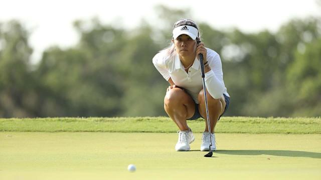 If Danielle Kang wins the KPMG Women's PGA Championship for the second time in three years, it might be because of 'Tour Boyfriend Things.' That's what Maverick McNealy is calling his assistance.