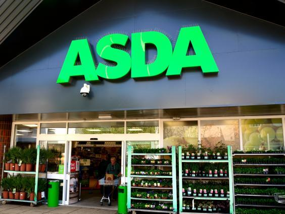Asda Supermarket store (Getty Images)