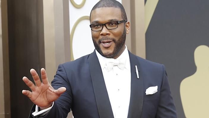 Tyler Perry is reportedly the father of a baby boy named Aman.