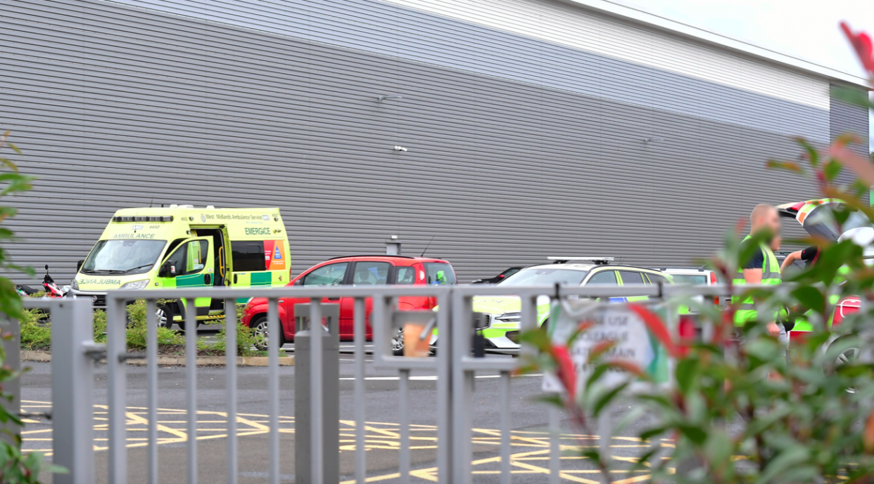 Shaun Potter was fatally injured at the Pets At Home distribution centre in Campbell Road, Stoke-on-Trent on 4 October. (Reach)