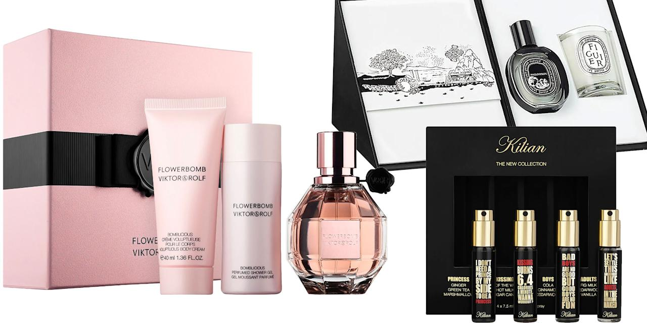 <p>There are three gifts that are always sure to impress: flowers, candles, and perfume. To take the stress out of your holiday shopping, we've rounded up the 20 best perfume gift sets for the 2019 season. </p>