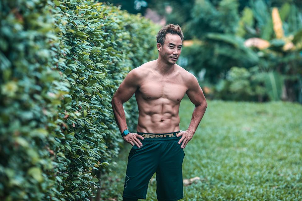 Singapore #Fitspo of the Week: Allan Wu (PHOTO: Cheryl Tay)