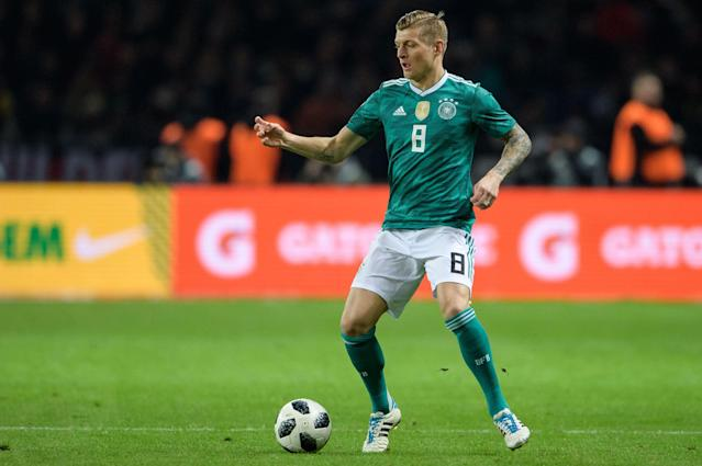 <p>Age: 28<br> Caps: 82<br> Position: Midfielder<br>The Real Madrid star is already vastly experienced at international level, and was part of the Germany team that triumphed in 2014, which included a man of the match performance in the 7-1 semi-final thrashing of hosts Brazil. </p>
