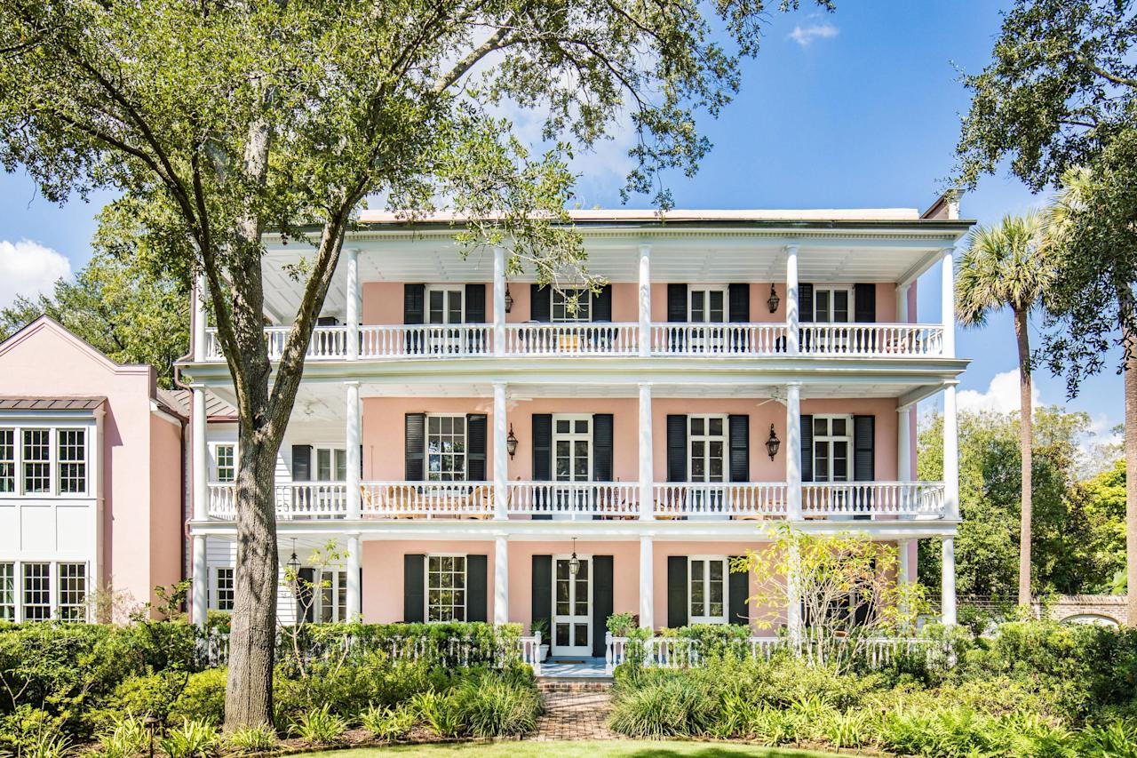 "<p>Located in the heart of the ""Estate Block"", the 1/2-acre property is surrounded by trees on all sides and is nestled among other historic properties. </p>"