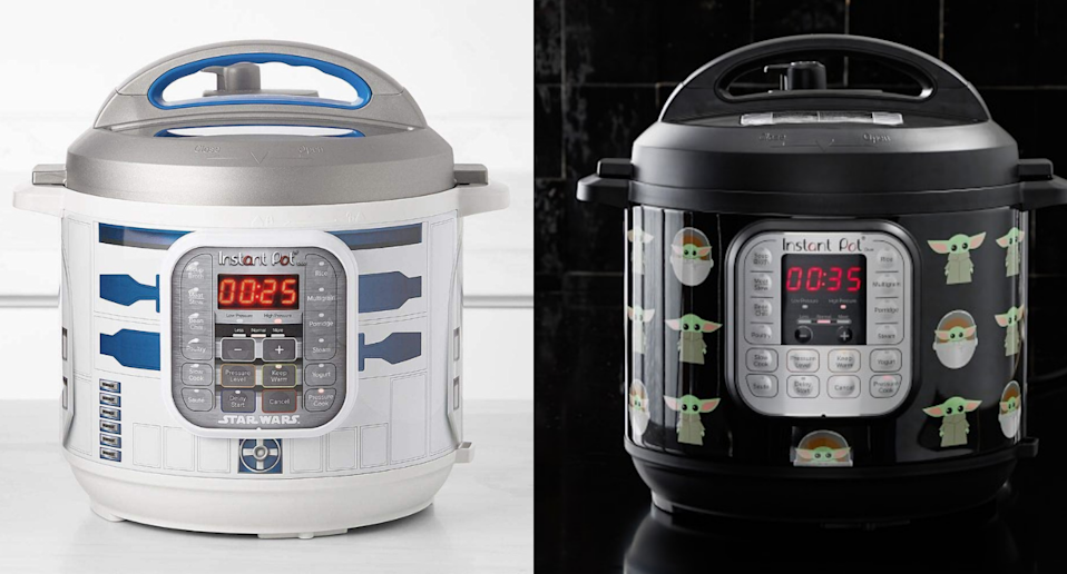 Kick off your May the 4th celebrations with these Star Wars themed Instant Pots.