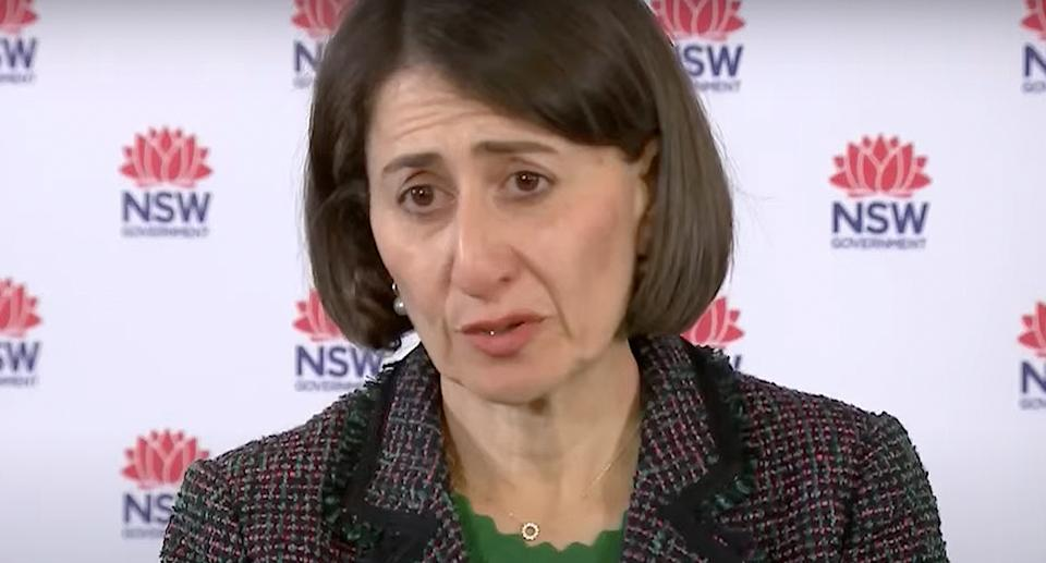 Gladys Berejiklian says mask restrictions are set to extend beyond midnight Wednesday. Source: ABC