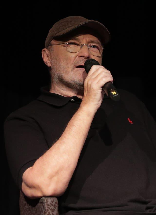Phil Collins photocall – London