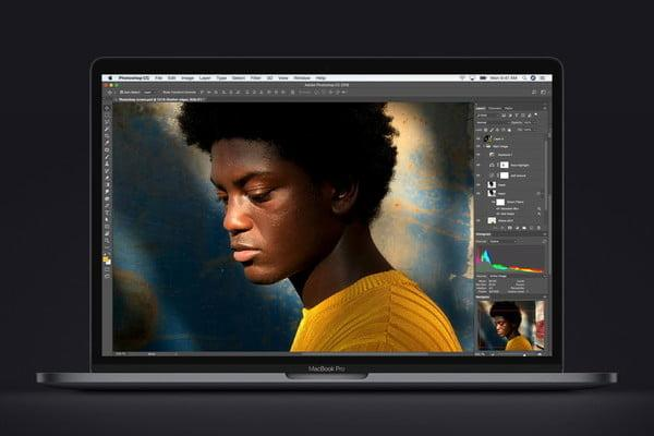 new macbook pro 8th generation cpu photoshop