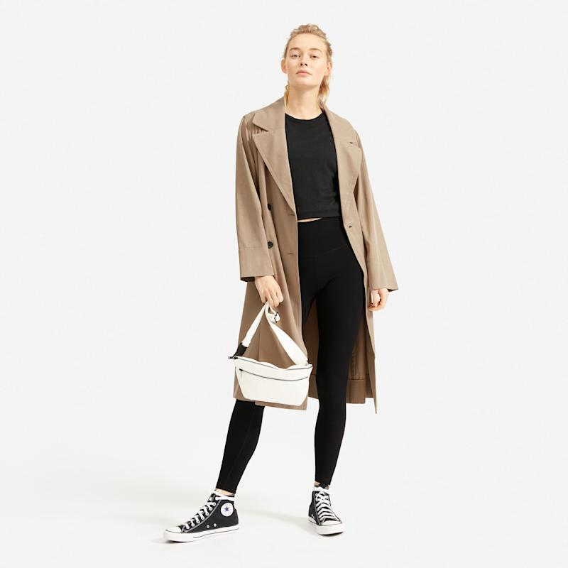 The Performance Legging in Black. (Credit: Everlane)