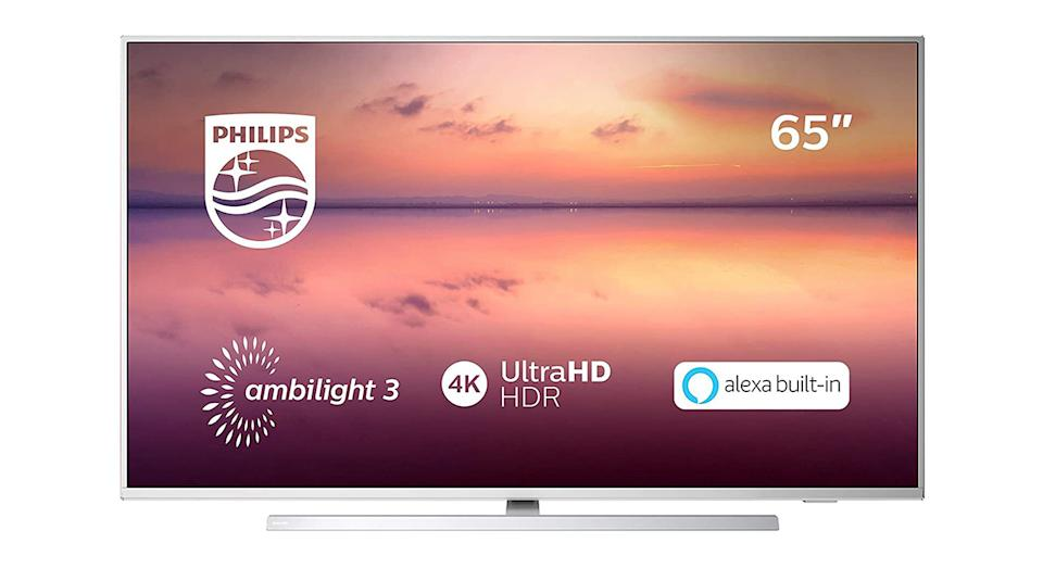Philips 65PUS6814/12 65-inch 4K UHD Smart TV with Ambilight