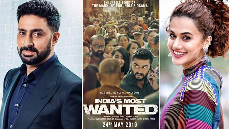 India's Most Wanted impresses B-town; Abhishek Bachchan, Taapsee Pannu Give a Thumbs Up to Arjun Kapoor's Film