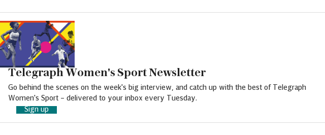 Women's Sport newsletter in-article