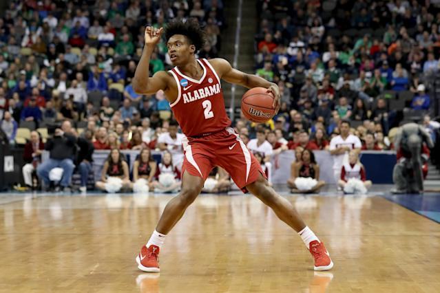 Collin Sexton has certainly raised his profile late in the season. (Getty)