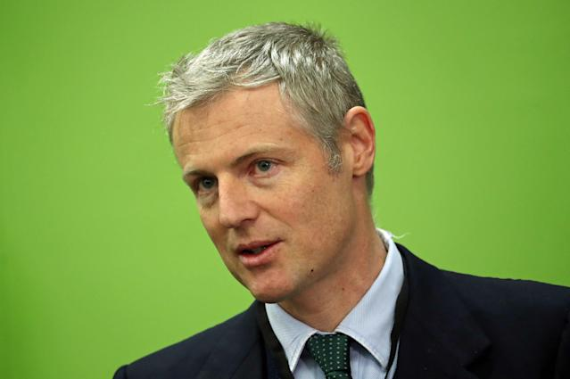Zac Goldsmith reacts at St Mary's University in Twickenham, after losing his Richmond Park seat in the 2019 General Election. (PA Images)