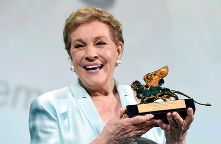 'Blessed' Julie Andrews gets lifetime achievement award in Venice