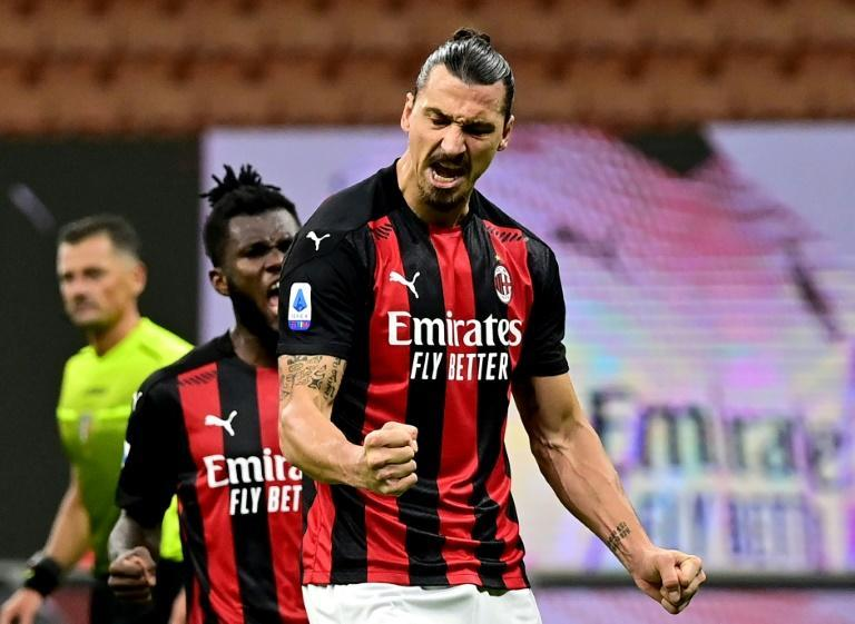 AC Milan forward Zlatan Ibrahimovic has scored six goals in three league games this season