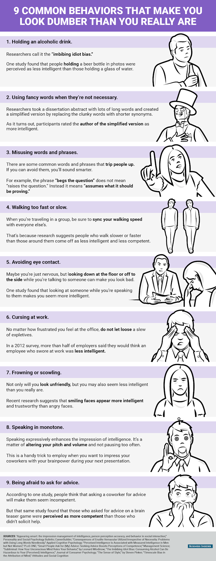bi_graphics_9 common behaviors that make you look dumber than you really are