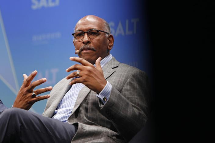 Michael Steele, former chairman of the Republican National Committee, in Las Vegas in 2019. (Joe Buglewicz/Bloomberg via Getty Images)