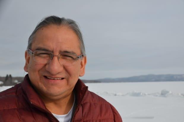 Dean Sayers, chief of Batchewana First Nation, near the Straits of Mackinac, believes it's important 'to find alternative ways to look after our energy needs, and I'm not so sure fossil fuels are the way to go.'