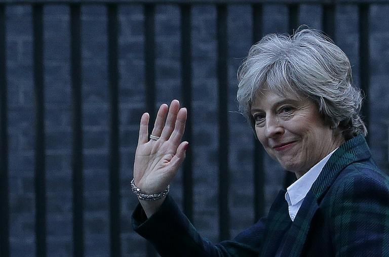 British Prime Minister Theresa May will formally trigger the two-year process of Britain's departure from the EU on March 29, 2017