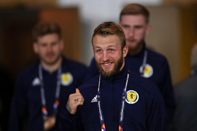 Johnny Russell for Scotland: Getty Images