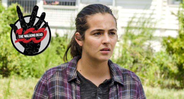 Alanna Masterson as Tara Chambler on AMC's 'The Walking Dead' (Photo: Gene Page/AMC)