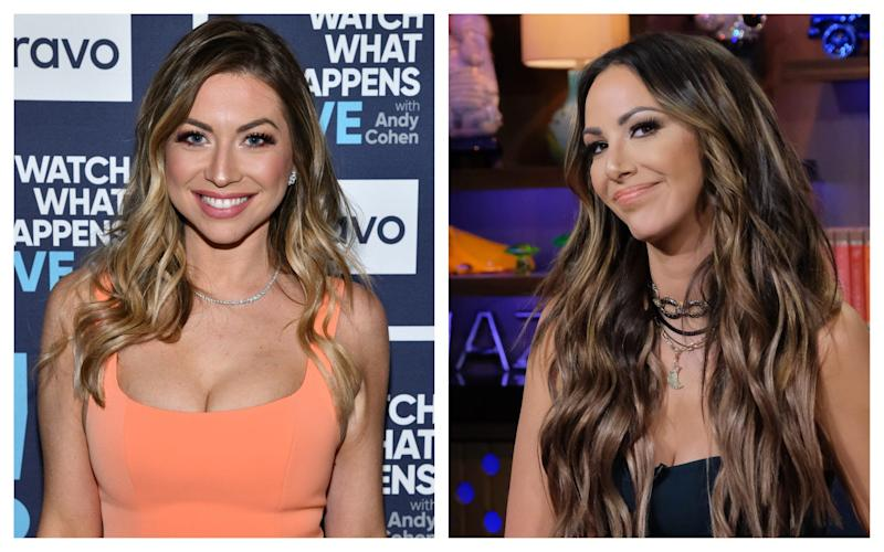 """Stassi Schroeder, left, and Kristen Doute will no longer be a part of Bravo's reality series """"Vanderpump Rules"""" after calling the cops on their Black co-star two years ago."""