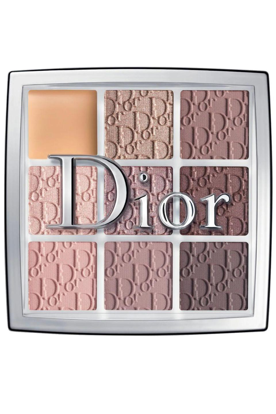 """<p><strong>Dior</strong></p><p>sephora.com</p><p><strong>$49.00</strong></p><p><a href=""""https://go.redirectingat.com?id=74968X1596630&url=https%3A%2F%2Fwww.sephora.com%2Fproduct%2Fbackstage-eyeshadow-palette-P432504&sref=https%3A%2F%2Fwww.cosmopolitan.com%2Fstyle-beauty%2Fbeauty%2Fg36596599%2Fbest-eyeshadow-palettes%2F"""" rel=""""nofollow noopener"""" target=""""_blank"""" data-ylk=""""slk:Shop Now"""" class=""""link rapid-noclick-resp"""">Shop Now</a></p><p>If you've played around with other eyeshadow palettes and discovered warmer shades of orange and gold are flat-out not for you, stick with what you know and find a palette full of basics that work with your <a href=""""https://www.cosmopolitan.com/style-beauty/beauty/advice/a5119/find-your-undertone/"""" rel=""""nofollow noopener"""" target=""""_blank"""" data-ylk=""""slk:skin undertone"""" class=""""link rapid-noclick-resp"""">skin undertone</a>, like this <strong>assortment of cool rosy shades and taupes</strong>. Bonus: This palette also comes with an <a href=""""https://www.cosmopolitan.com/style-beauty/beauty/g22842881/best-eyeshadow-primer/"""" rel=""""nofollow noopener"""" target=""""_blank"""" data-ylk=""""slk:eyeshadow primer"""" class=""""link rapid-noclick-resp"""">eyeshadow primer</a> in the top left corner that'll help your pigments stay put and prevent any creasing or smudging. We love a good two-for-one.</p>"""