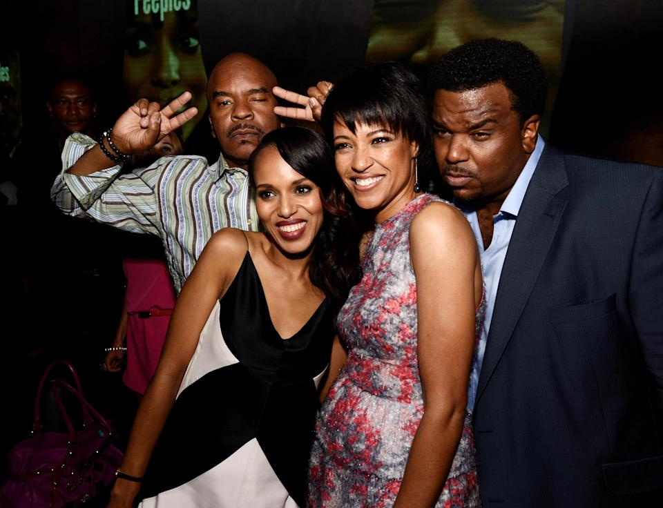 Tina Gordon Chism (centre right) writes and direct the film