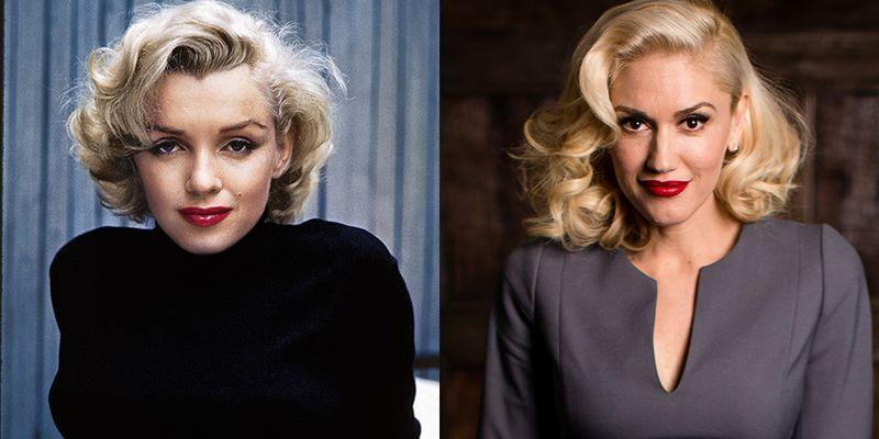 <p>We know Gwen Stefani will be elated by this matchup. After all, the singer first started dying her hair platinum blonde to emulate the screen star. Their famous red pouts are just the cherry on top.</p>