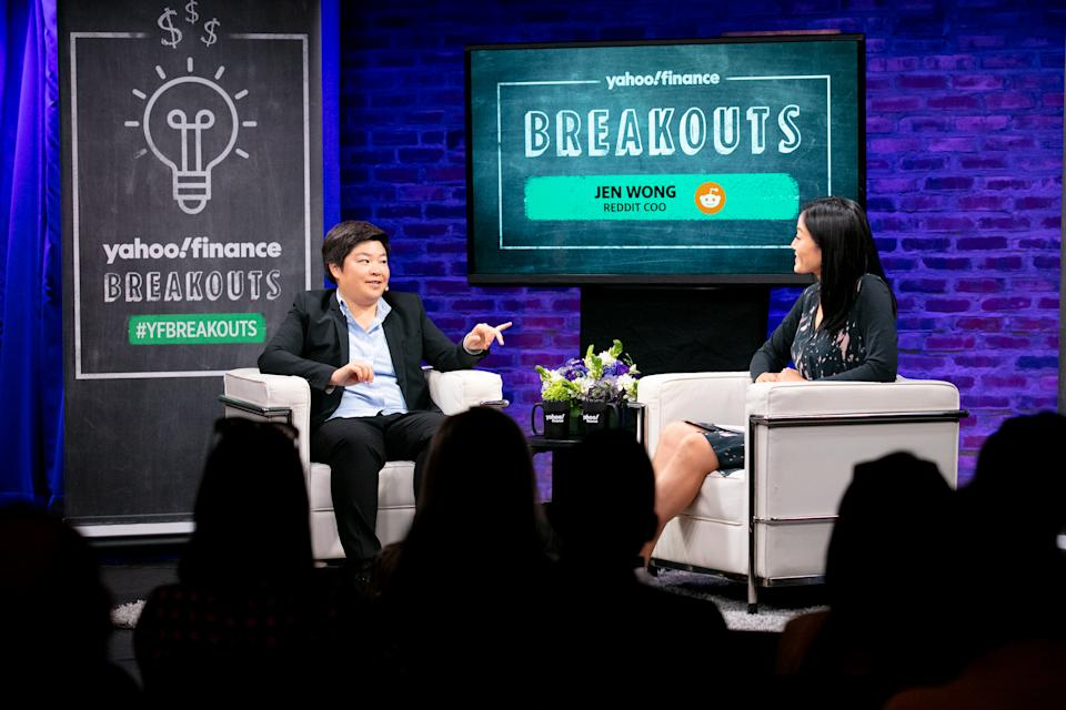 Jen Wong visits Yahoo Breakouts at SubCulture on Sept. 25 2019 in New York. Photos by Gino DePinto