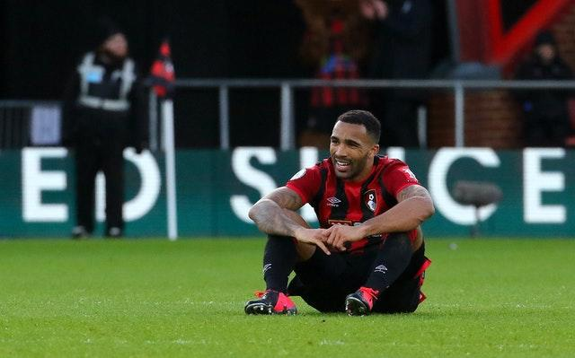 Callum Wilson struggled for form as Bournemouth were relegated from the Premier League.
