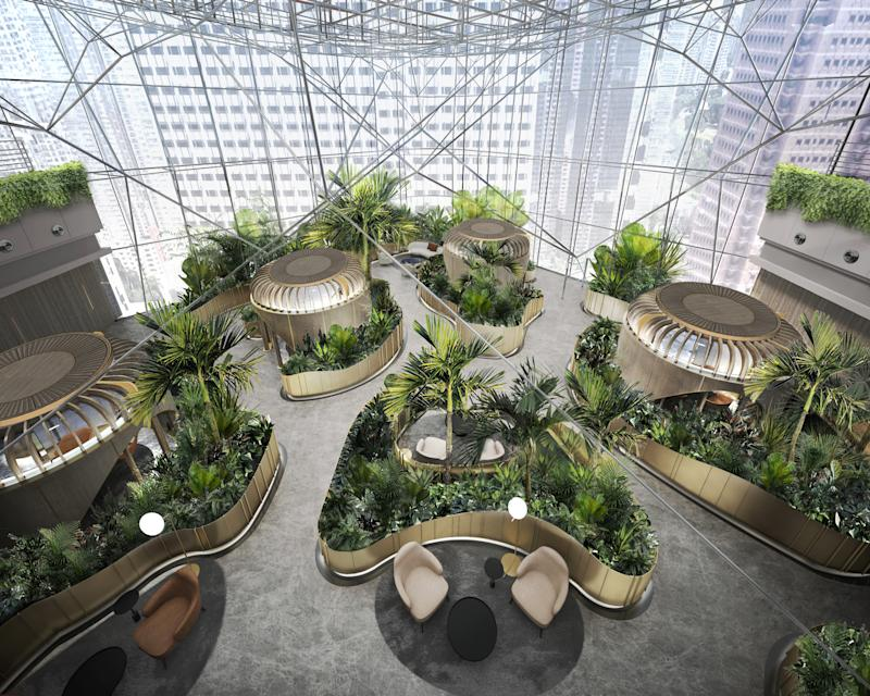 Artist impression of client meeting space at Citi Wealth Hub at 268 Orchard. (PHOTO: Courtesy of Ministry of Design Pte Ltd)