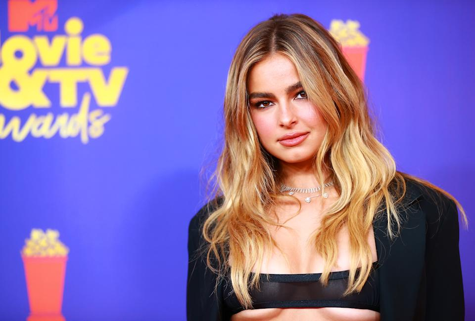Addison Rae started therapy to handle sudden rise to fame. (Getty Images)