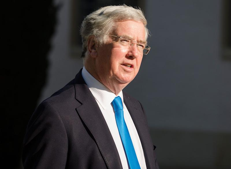 Michael Fallon, Secretary of State for Defence: EPA