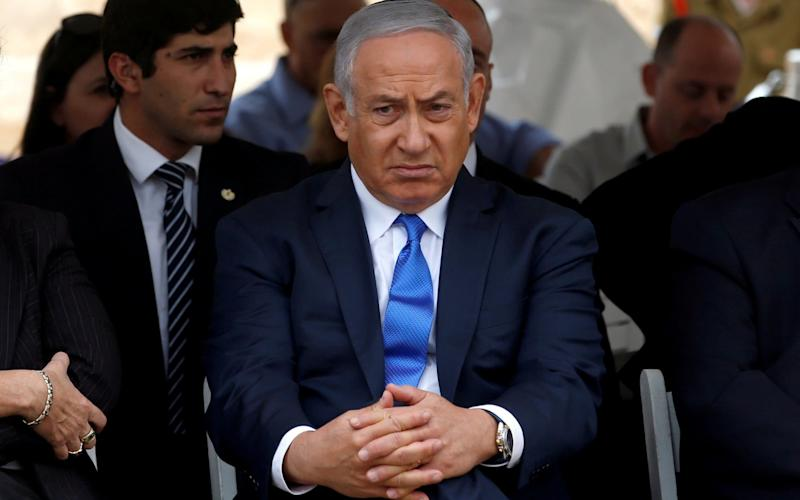 Benjamin Netanyahu had been bracing for criticism from the Right over the Gaza ceasefire - REUTERS